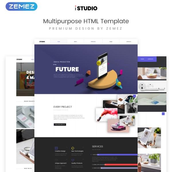 IStudio Bootstrap Template