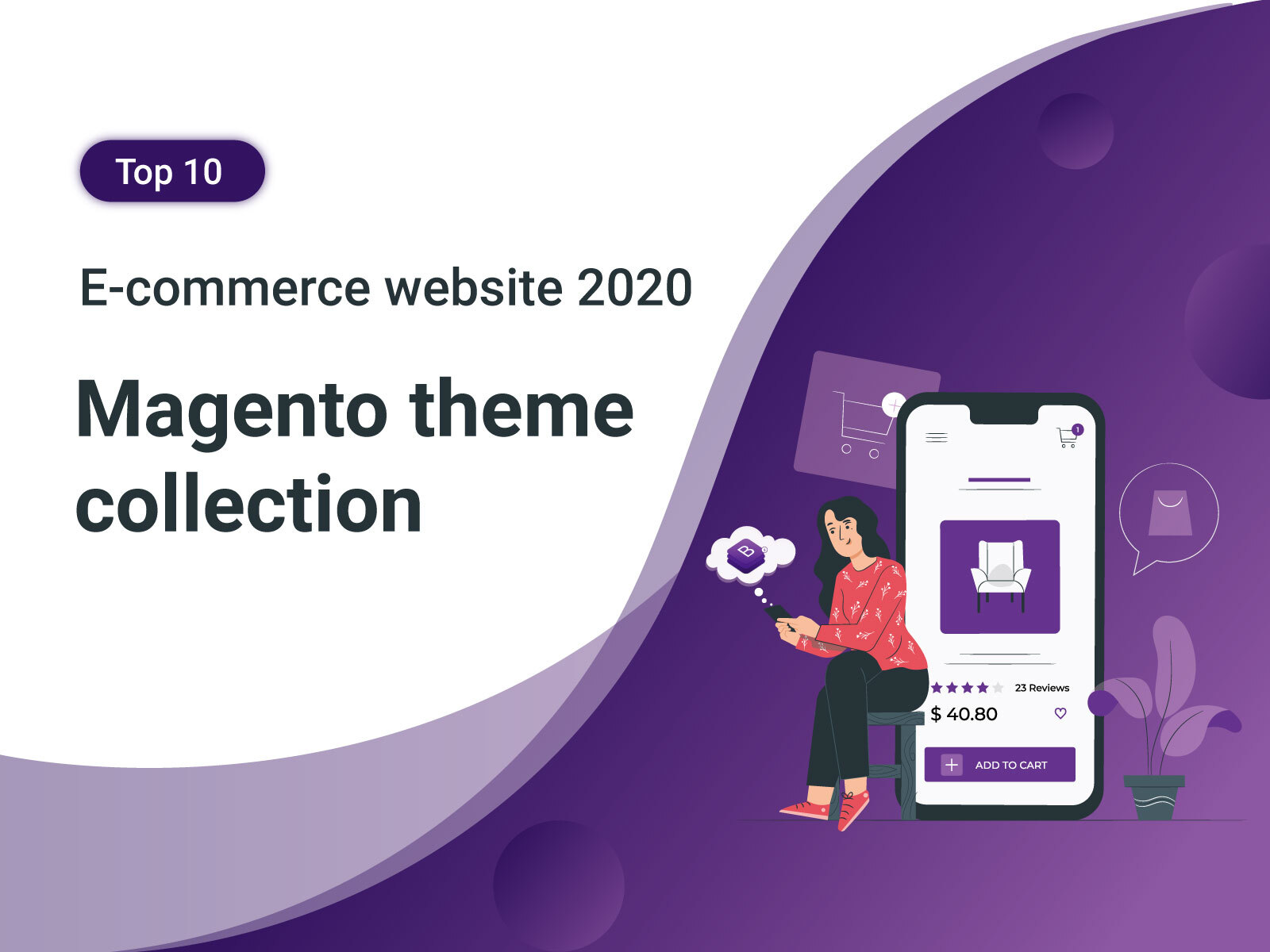Magento theme collection for E-commerce