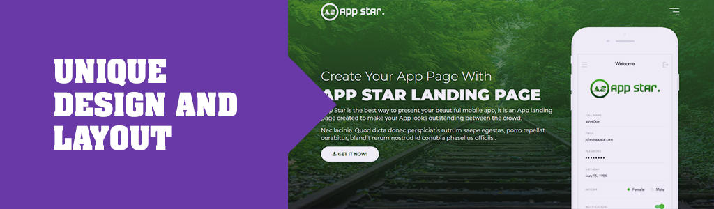 free landing page templates html5