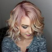 trending rose gold hair