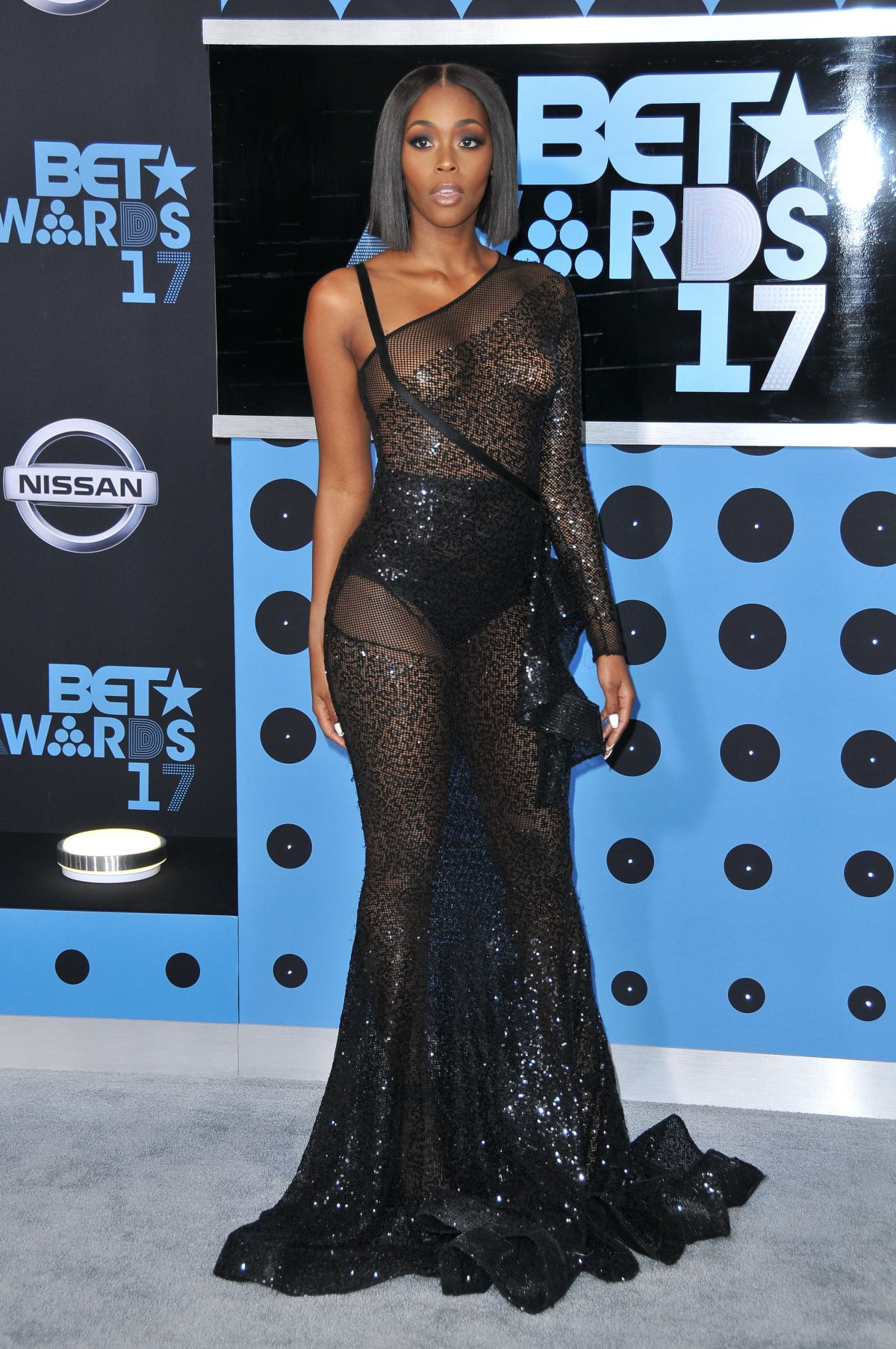 Nafessa Williams Nafessawilliams At 2017 Bet Awards In La