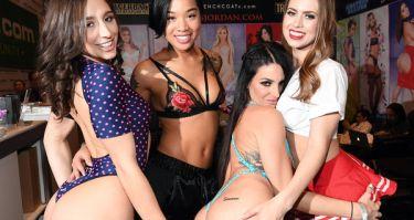Abella Danger, Honey Gold, Kissa Sins and Jill Kassidy