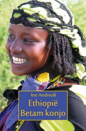 omslag van het boek Ethiopië, betam konjo