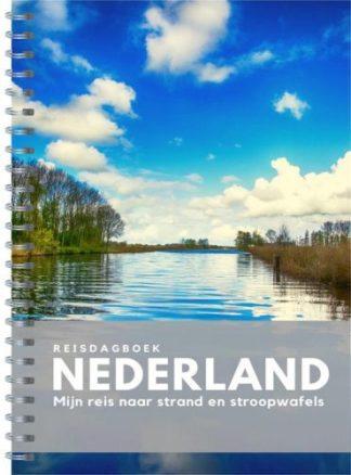 voorzijde van het reisdagboek Nederland van Anika Redhed