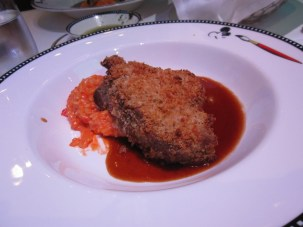 Veal Chop and Risotto