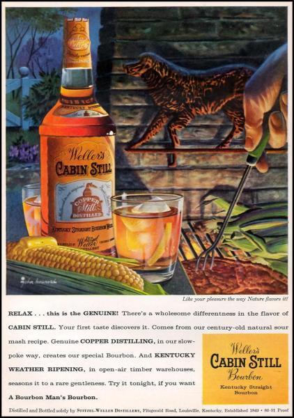 Vintage Cabin Still Ad