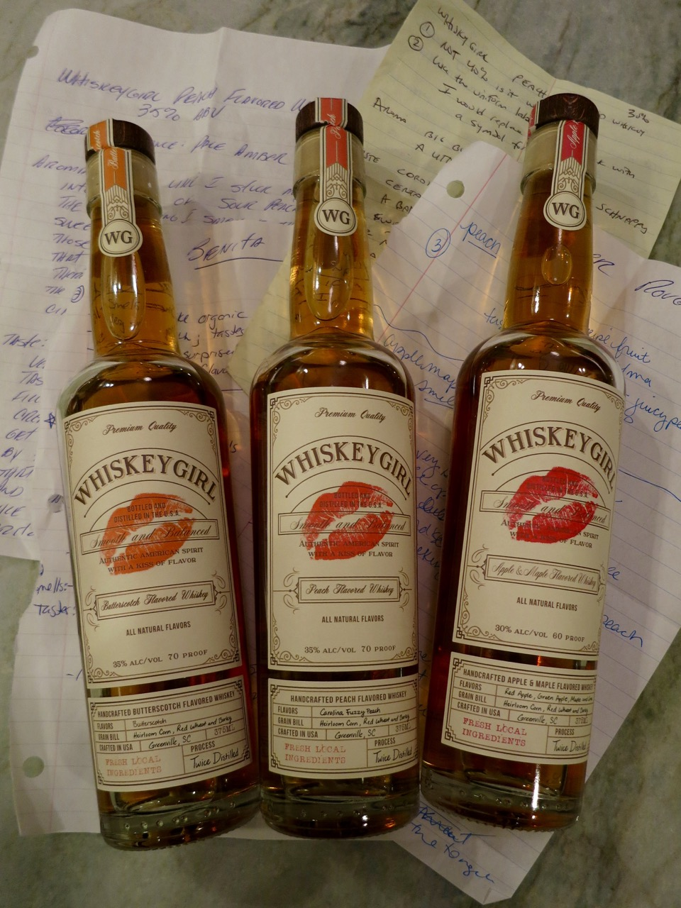 Booze Review  A Trio of Whiskey Girl Flavored Whiskies