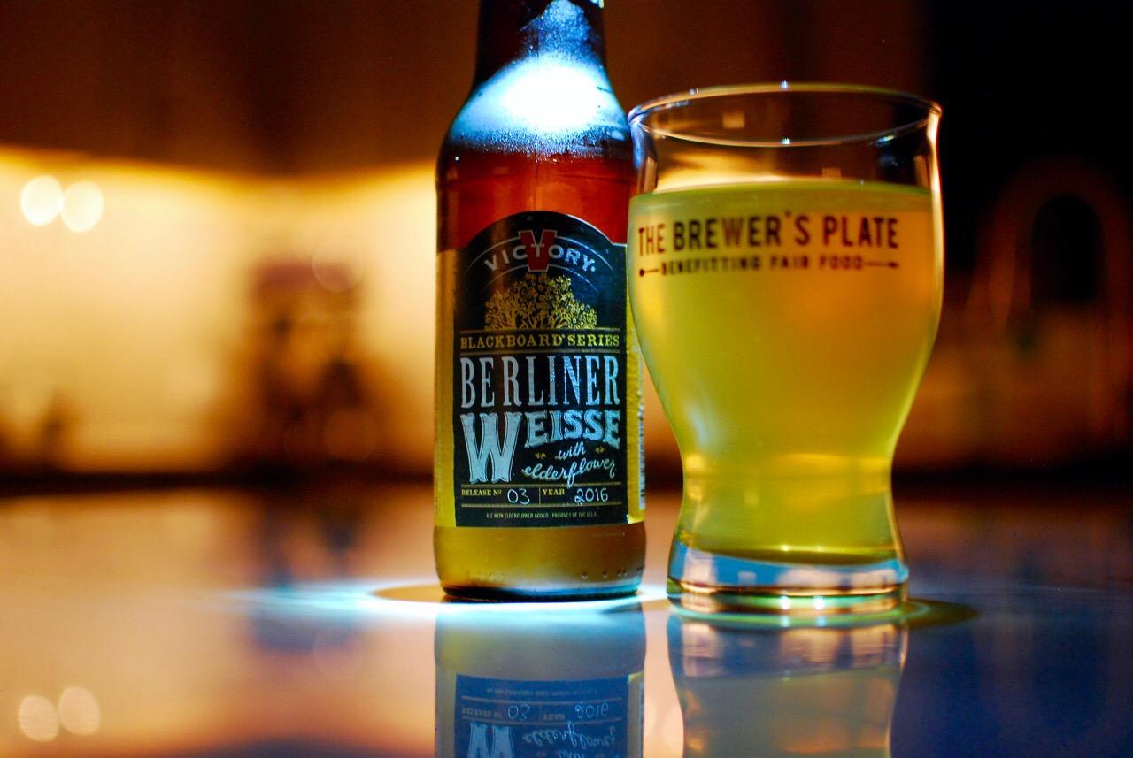 Beer Review Victory Berliner Weisse With Elderflower