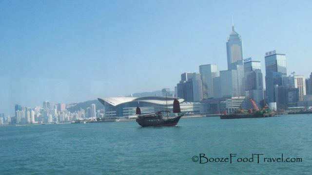 Victoria Harbor from the Star Ferry