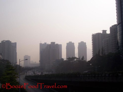 Air pollution in Shenzhen, China