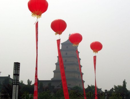 The grey sky in Xi'an was indicative of my travels in China