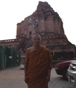 Plai, the monk who chatted with tourists