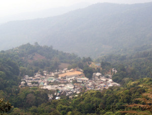 Hill Tribe Village at Doi Suthep