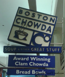 "All I could think of was The Simpsons. ""Say it right, Frenchy, it's chowda!"""