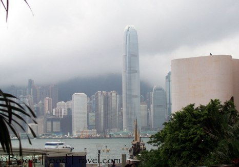 Sometimes Hong Kong became invisible