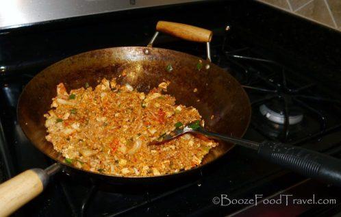 Looks tasty in the wok