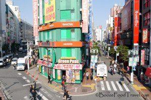 A walk in the sun through Shinjuku feels like a good way to celebrate