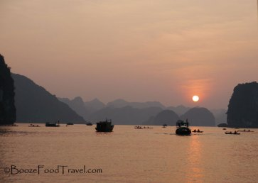 halong-sunset