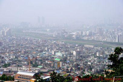 View of Seoul from Yongmasan