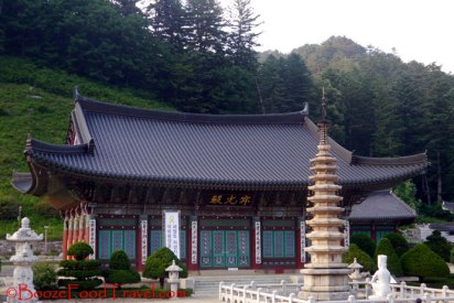 nine-storey pagoda in front of the main temple hall