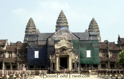 Welcome to Angkor Wat. Please, use the side door