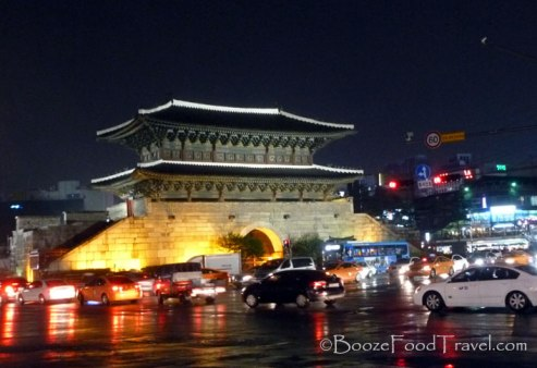 Dongdaemun at night
