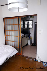 My first Airbnb apartment in Tokyo