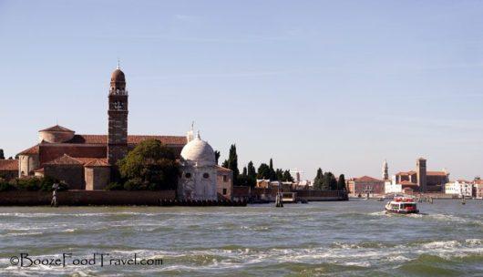 Approaching Murano