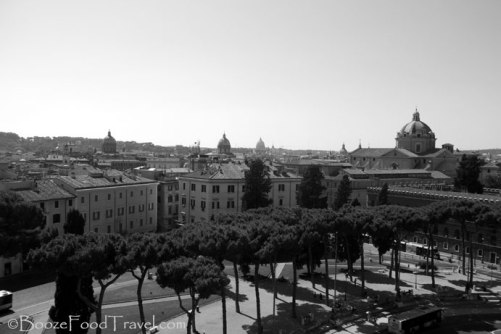 View of Rome from the Altar of the Fatherland