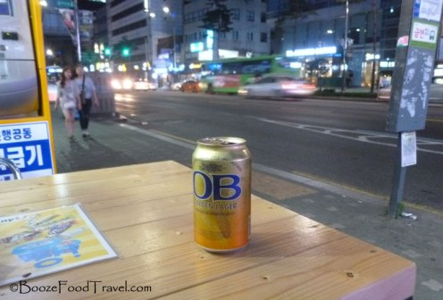 Typical night after work in Seoul