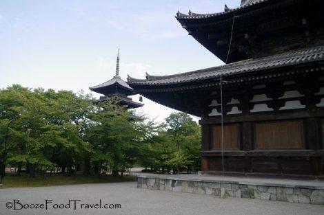 Tō-Ji pagoda and miedo