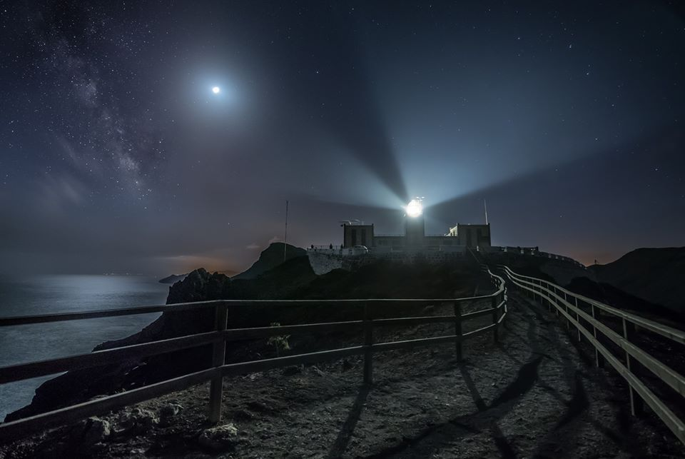 Feelings are Like Lighthouses :  image of Fuerteventura lighthouse is by Jonathan Warner
