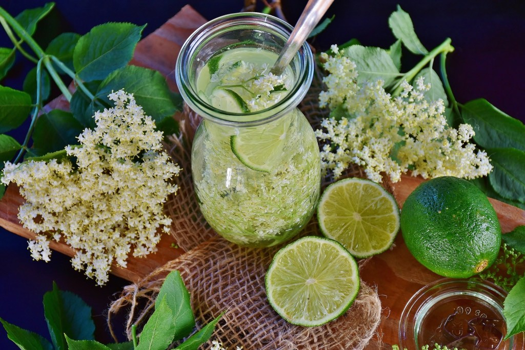 Fresh drink related to cure for alcoholism