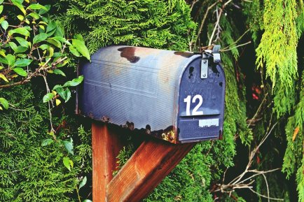 Post box with 12 representing Posting to a community - one of 12 Things that Helped me Stop Drinking and Stay Sober