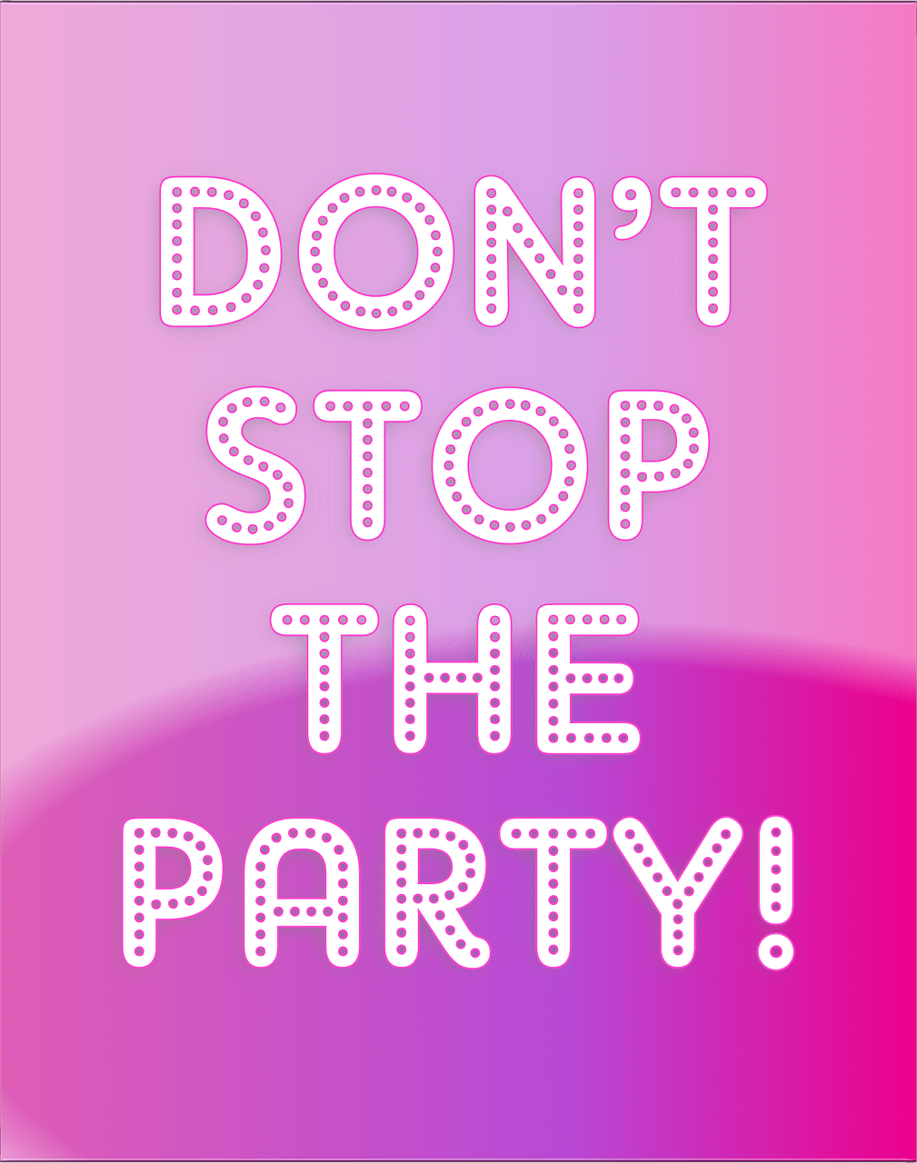Don't Stop The Party! Are your Friends Making it Hard for you to stay sober