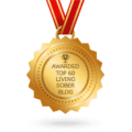 badge for Feedspot Top Living Sober Blogs