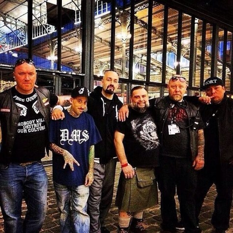 (L-R) Client, Norm, Big Sleeps, Lefty Bastard, Tin-Tin, and Boog Star, Paris 2014