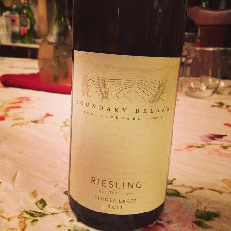 Boundary Breaks Rieslings are gaining in popularity here in the FLX