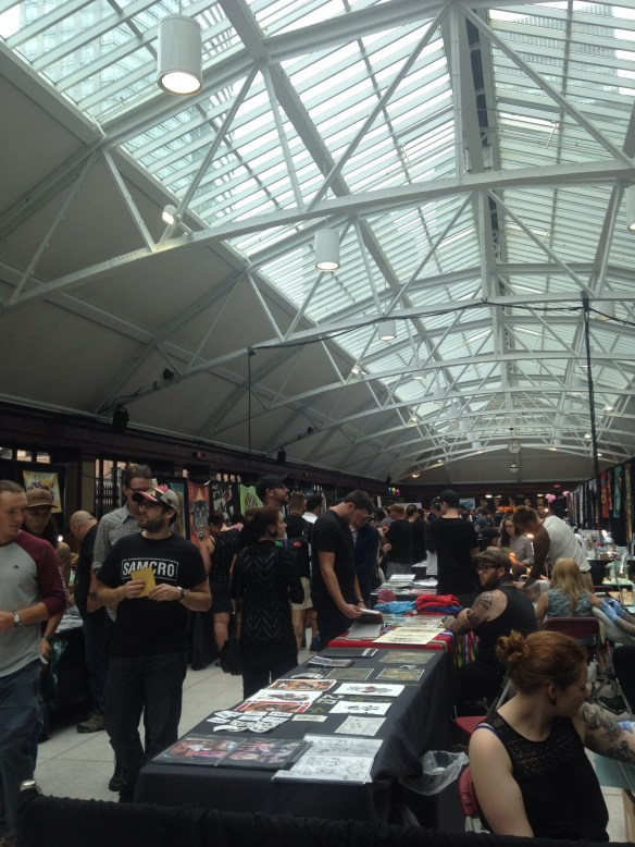 Inside Art Tattoo Montreal 2014