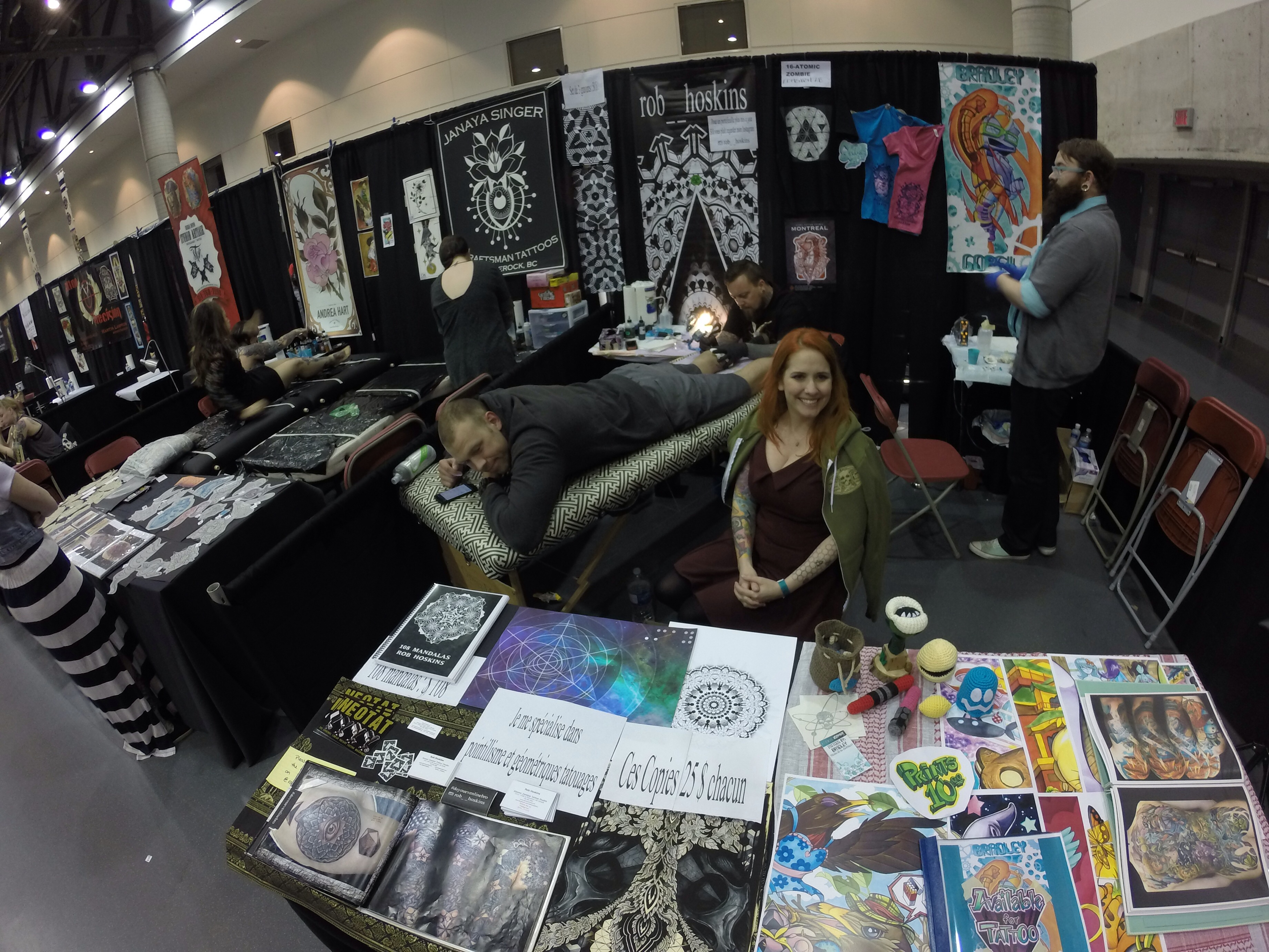 Art tattoo show qu bec archives the boozy life of a for Fort worth texas tattoo shops