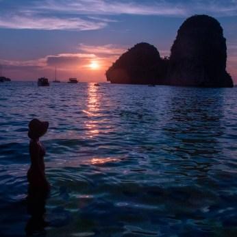 Beach, Railey Beach, Thailand