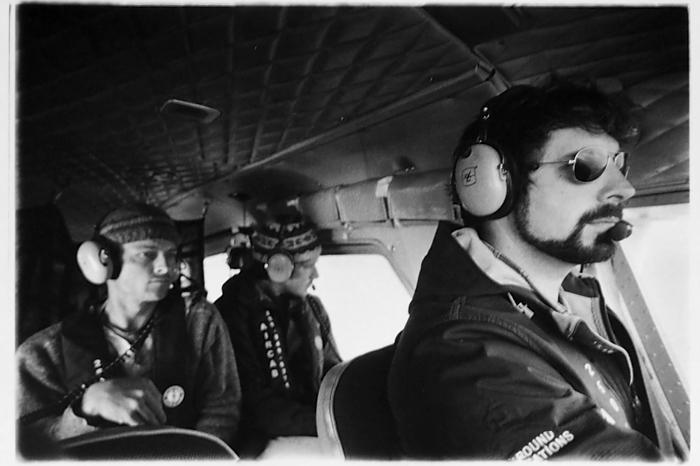 In the floatplane