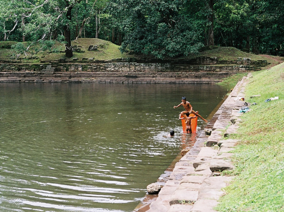 Ablutions pools of Phimeanakas temples