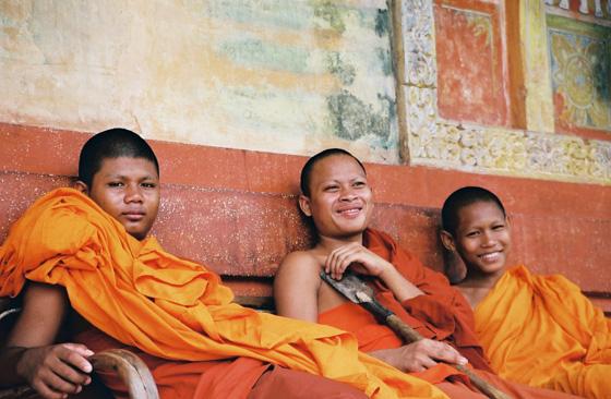 Bakong Buddhist Monks
