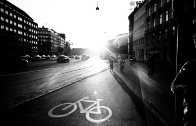 Sunny bicycle