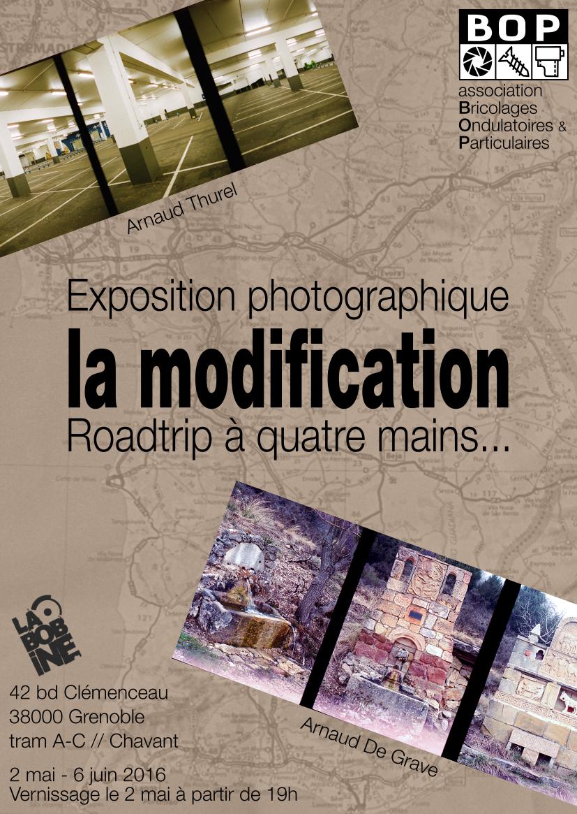 La Modification - Flyer