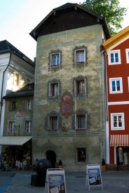 A building in Sankt Wolfgang