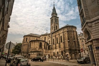 Notre Dame de Clignancour, my first stop in Montmartre