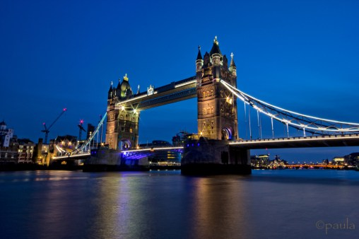 May under the blue sky - Tower Bridge