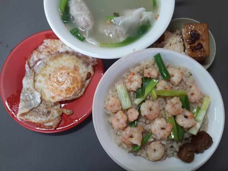 【台南 新化】目鏡蝦仁飯。來到新化必吃美食│府城隱藏版美味火燒蝦